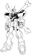 XM-X1 Crossbone Gundam X-1 Kai Kai Front Manga