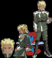 Gundam info Character Sheet Dearka Elsman