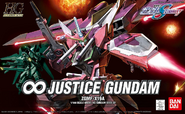 HG Infinite Justice Gundam Cover