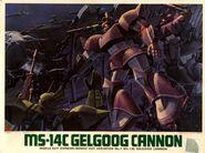 MS-14C - Gelgoog Cannon - Boxart