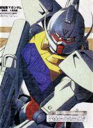 Turn A Gundam Illustration by Kaji Sugiura
