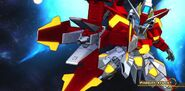 BN-876β Hot Scramble Gundam (MS Mode) (SD Gundam) 10