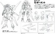 Gundam Portent Lineart