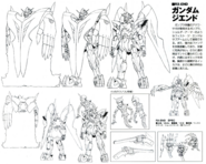 Gundam THE END Lineart