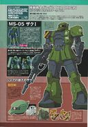 MS-05 Zaku I (Denim Custom) (2)
