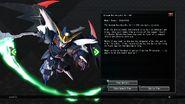Gundam Deathscythe Hell EW Data From SD Gundam G Generation Cross Rays