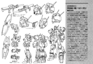 RGM-109 Heavygun Lineart