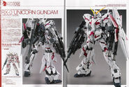 RX-0 - Unicorn Gundam - Destroy Mode