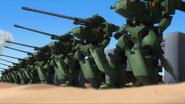 Tieren Cannon barrage