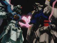 Rx78gp01fb-vs-rx78gp02a BitterEnd Gundam0083OVA episode10