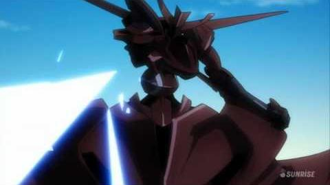105 AEU-09Y812 Ali al-Saachez's AEU Enact Custom (from Mobile Suit Gundam 00)