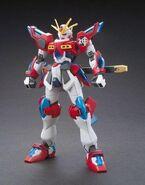 KMK-B01 Kamiki Burning Gundam (Gunpla) (Front)