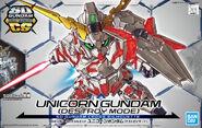 SDCS Unicorn Gundam -Destroy Mode-