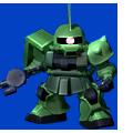 Unit b zaku ii commander