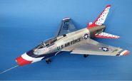 "F-100D Super Sabre ""Thunderbirds"""