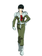 G Gen Genesis Custom Character (Helmetless Female Zeon Pilot)