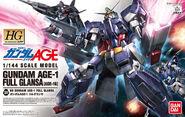 HG-AGE Gundam AGE-1 Full Glansa - Box Art
