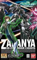 HG Gundam Zabanya (Clear Color Ver.)