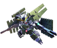 SD Gundam G Generation Cross Rays Gundam Zabanya (Final Mission)