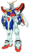 GF13-017NJII God Gundam normal Front