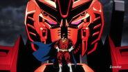 Ν-Zeon Gundam with Captain Zeon