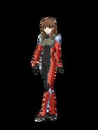 G Gen Cross Rays Custom Character (Female Celestial Being Pilot)