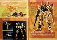 MSN-001 δ Gundam - TechDetailDesign