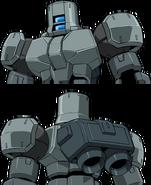 OZ-06MS[MPD] Leo NPD Head Variants 2