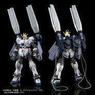 RX-9-B Narrative Gundam B-Packs (Gunpla) (Rear)