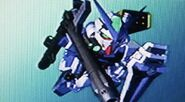 Gundam Astray Blue Frame Full Weapon Form