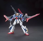 MSZ-006LGT Lightning Zeta Gundam (Gunpla) (Action Pose)