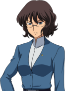 Super Robot Wars T Character Face Portrait 596