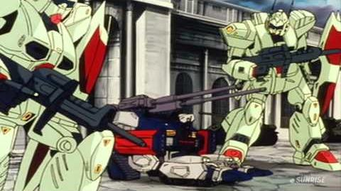 362 RGM-109 Heavygun (from Mobile Suit Gundam F91)