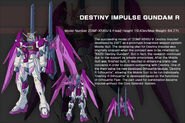 Destiny Impulse Gundam R - Data