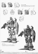 Gundam Ground Type Early Design heads