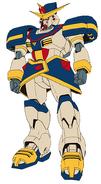 GF13-051NE Pharaoh Gundam XIII Front