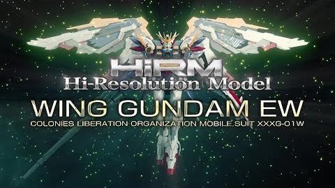 HiRM 1 100 GUNDAM WING EW promotional video - EN sub