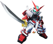 SD Gundam G Generation Cross Rays Gundam Astray Red Frame