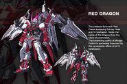Gundam Astray Red Dragon - Data