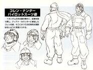 Turn A Gundam Corin Nander Kapool Pilot Details