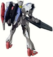 GNZ-001 - GRM Gundam - Back View