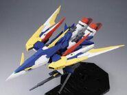 XXXG-01Wfr-A Gundam Fenice Rinascita Alba (Gunpla) (Front Flight Mode)