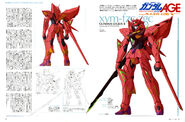 Gundam Legilis R - EXA LOG