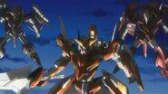 Gundam Throne Gundams