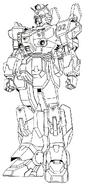 RX-79BD-2 Blue Destiny Unit 2 omega