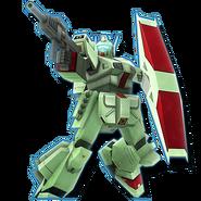 Gundam Diorama Front 3rd RGM-109 Heavygun