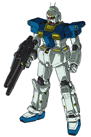 Front (w/ Twin Beam Rifle)