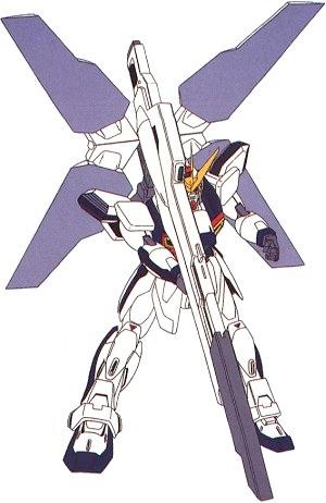 GX-9900 Gundam X, Satellite Cannon in firing position