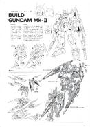 Build Gundam Mk-II Lineart