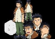 Minoru Koshiba Character Sheet
